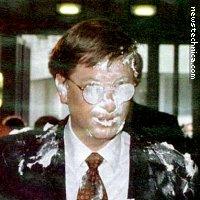 Bill Gates with pie