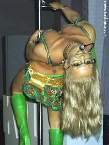 Wax Britney Palin