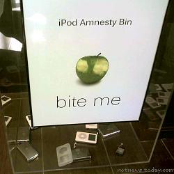 Zune HQ iPod amnesty bin