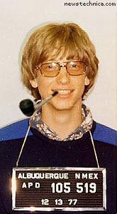 Jack Schofield Bill Gates mugshot