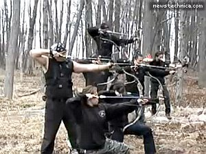 Bow and arrow hunting in Afghanistan