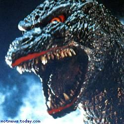 Godzilla versus Mecha-Palin