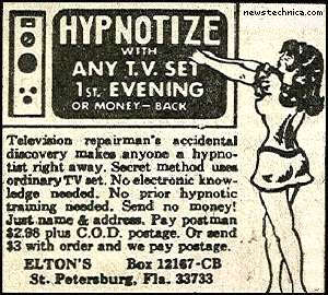 Hypnotize, with any TV set!