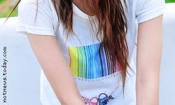 Rainbow fashion barcode
