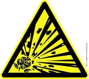 Danger! Labour terrorist explosions!