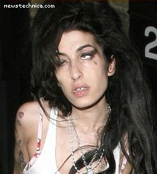 Amy Winehouse in the peak of mental health and alertness