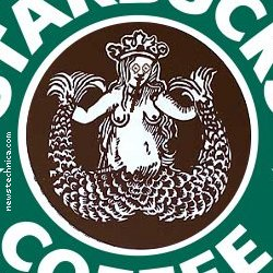 Starbucks original cocaine logo
