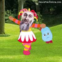 Osama bin Laden in the night garden