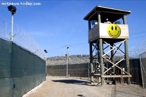 Prison camp in Taylor, Texas