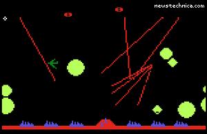 Atari 5200 Missile Command