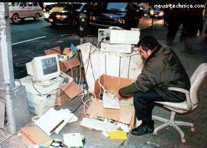 Computer bum