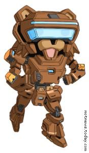 Robot Pedobear
