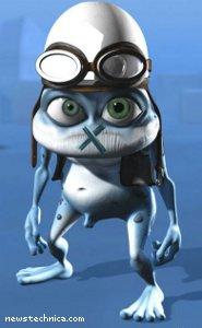 Crazy Frog gagged