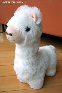 White Cao Ni Ma Alpaca Toy
