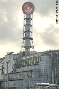 Microsoft Zune powered by Chernobyl Red Ring