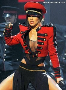 Cheryl Cole and her breasts on X-Factor