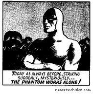 Malcolm Turnbull as the Phantom