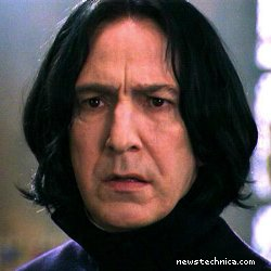 Snape is not impressed
