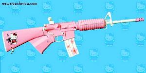 Hello Kitty AR15