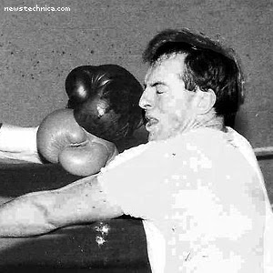 Tony Abbott getting punched in the face