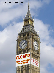 Big Ben closed for business
