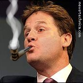 Nick Clegg and crack pipe
