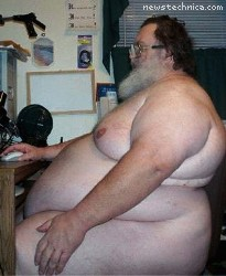 Fat Naked Internet Guy