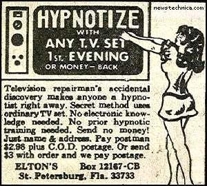 Hypnotize, with any TV set!