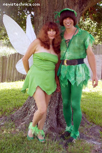 Tinkerbell and Peter Pan (Dorothy and Randy Constan)