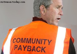 George W. Bush community payback