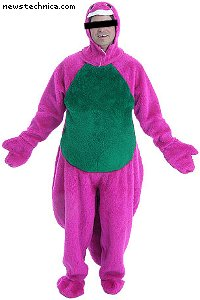 Cheap sweatsuit dinosaur costume