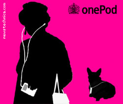 God save the Queen and her iPod