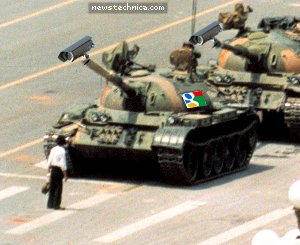 Tiananmen Google Tank Man