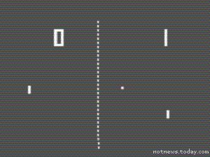 Pong screenshot