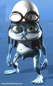 Crazy Frog gagged
