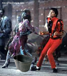 Michael Jackson kicks the bucket