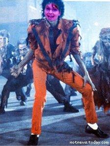 Sarah Palin in Thriller
