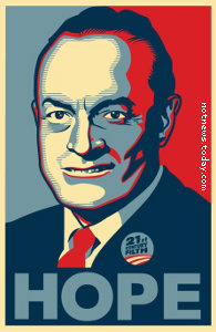 Bob Hope, apologies to Shepard Fairey