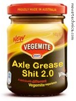 Vegemite Axle Grease Shit 2.0