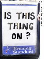 London Evening Standard board