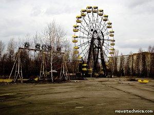 Pripyat, Chernobyl ferris wheel