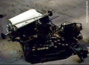 Typewriter, typewrited