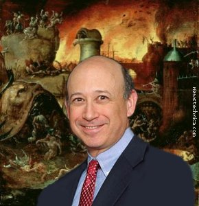 Lloyd Blankfein in Hell