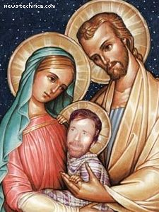 The Holy Family of Chuck Norris