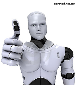 """""""Rational story, bro"""" robot"""