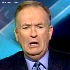 Bill O'Reilly, horrified and disgusted